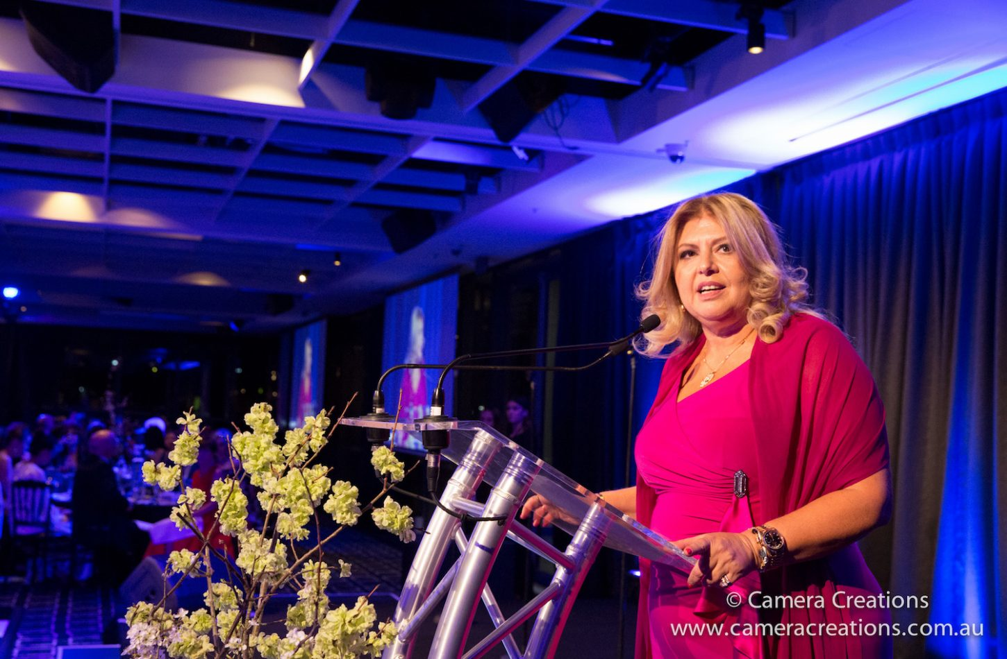 Luxperience founder Helen Logas started the event six years. Picture: Camera Creations www.cameracreations.com.au