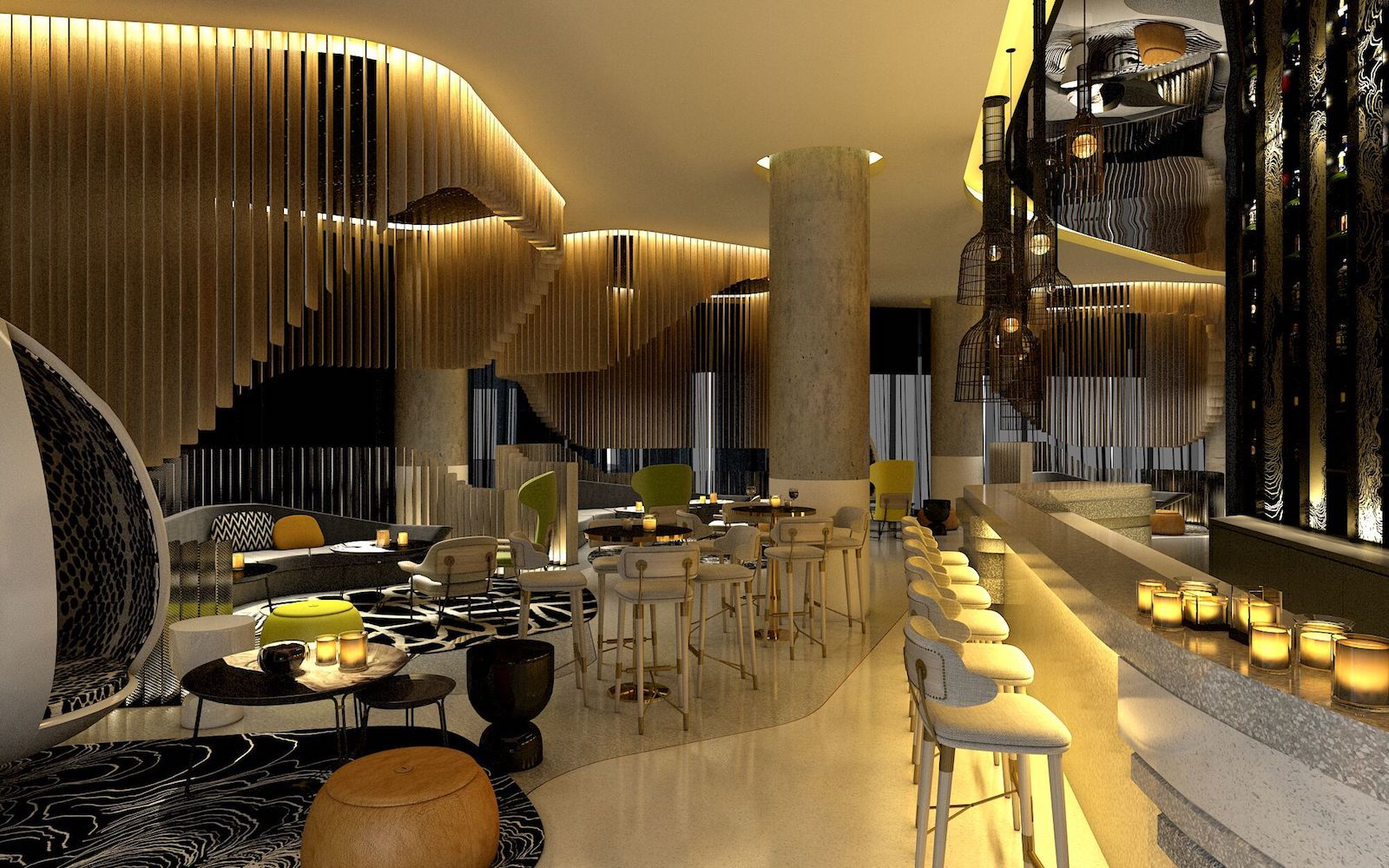 W hotels to unleash 5 star gem in brisbane cbd early 2018 for W living room lounge
