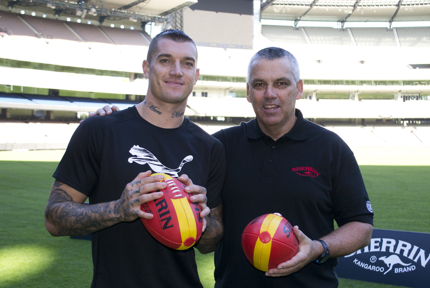 Dustin Martin Mark Williams