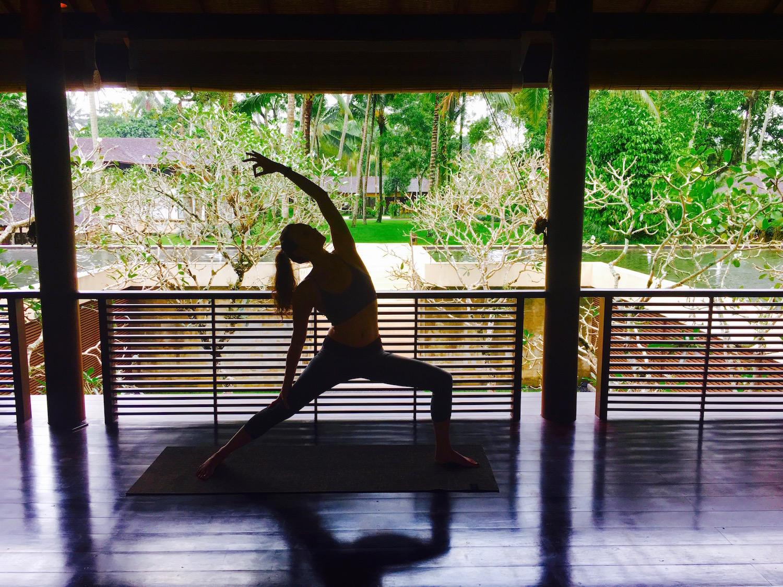 Yoga at COMO Shambhala Bali
