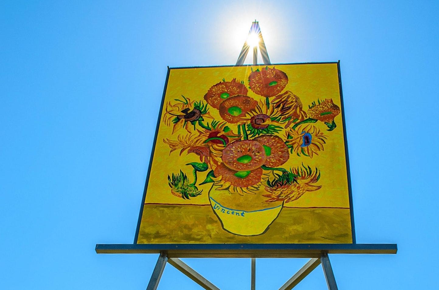 Emerald sunflower