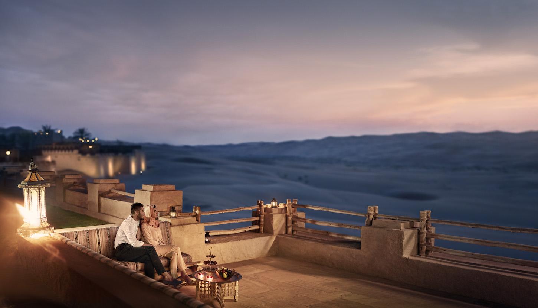 Abu Dhabi Qasr Al Sarab Arab Couple