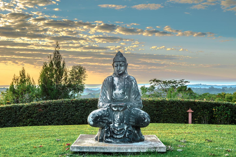 Buddha at Gaia Byron Bay