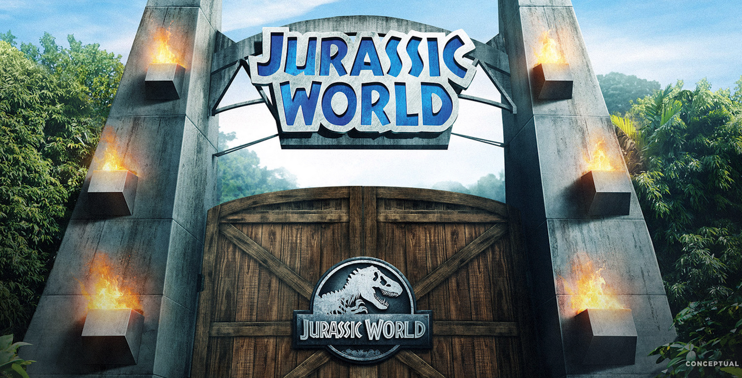 Warner Bros Studios Jurassic World Ride