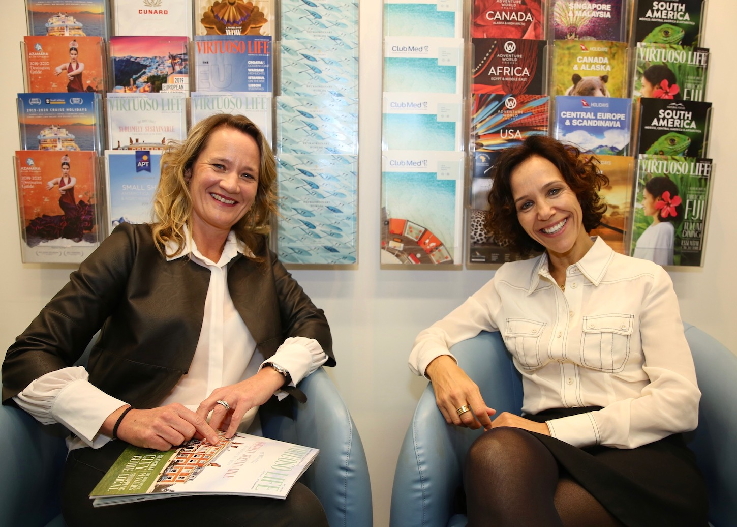 Executive Edge Travel Gold List Yvonne Verstandig Sally Bird