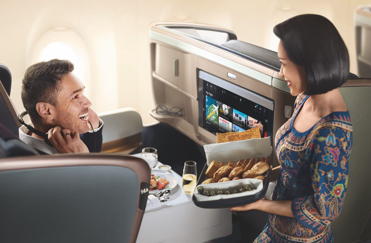 Singapore Airlines A350 Business