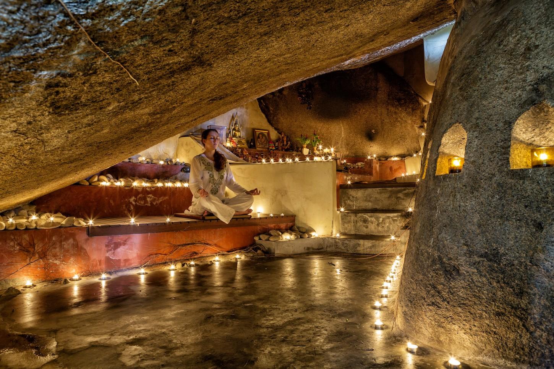Kamalaya Thailand cave