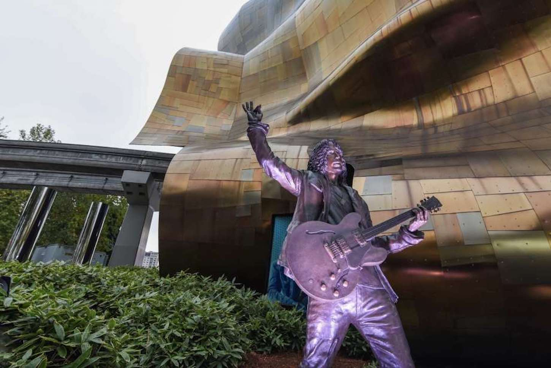 Chris Cornell statue MOPC