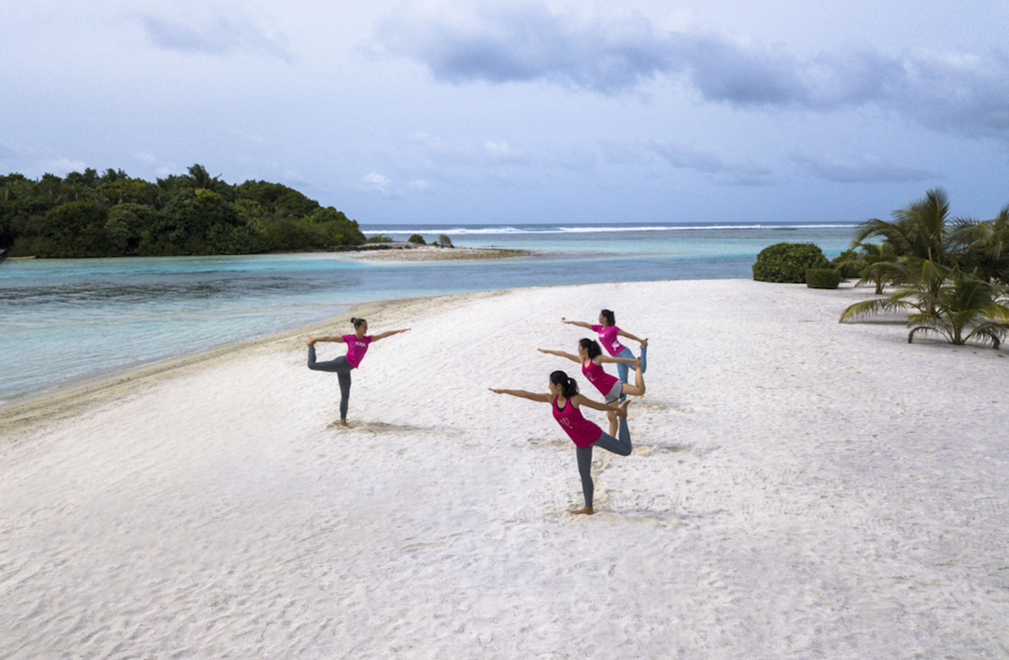 Club Med Maldives yoga