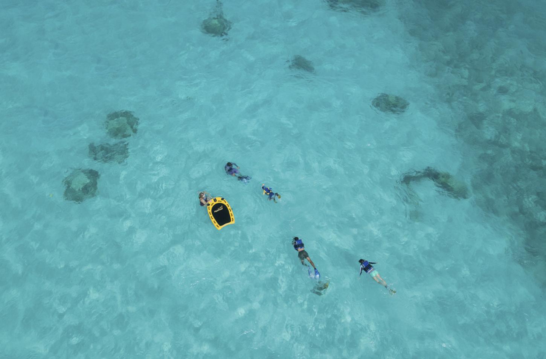 Club Med maldives snorkel