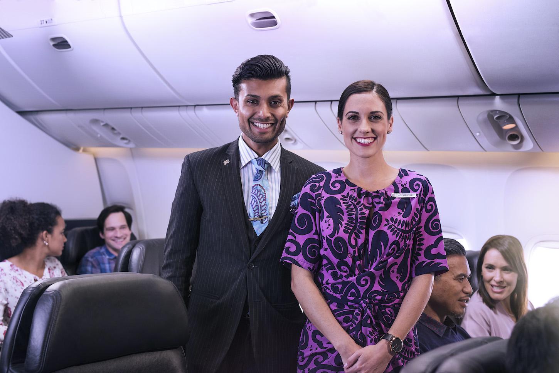 Air New Zealand crew